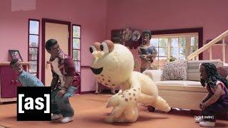getlinkyoutube.com-Gullah Gullah I Lied | Robot Chicken | Adult Swim