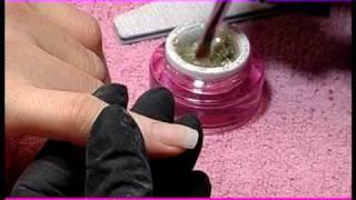 Step by Step Crystal Nails - Utilizzo di gel colorati e glitterati by Irene Merlo