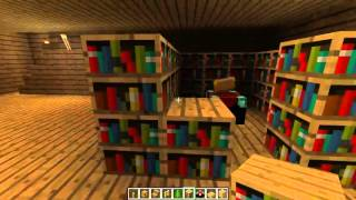 How to build big wooden house MINECRAFT [part 3]