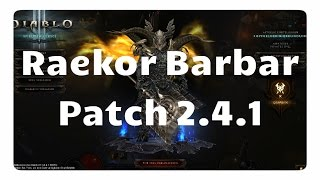 getlinkyoutube.com-Patch 2.4.1: Der Felswurf Build für den Barbar (neues Raekor Set)