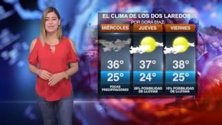 CLIMA MIÉRCOLES 12 DE JULIO NUEVO LAREDO