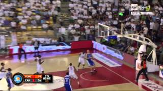 Basketinside.com-Play of the game G3 Roma-Cantù:la tripla di Aradori