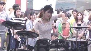 여자드러머_김미소_빅뱅_뱅뱅뱅(cover)_kpop_drummer_ misokim_BigBang_BangBangBang