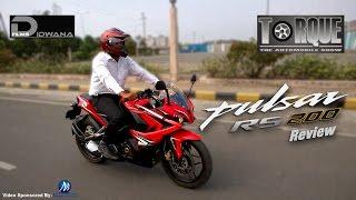 getlinkyoutube.com-Bajaj Pulsar RS200 Review | Torque - The Automobile Show