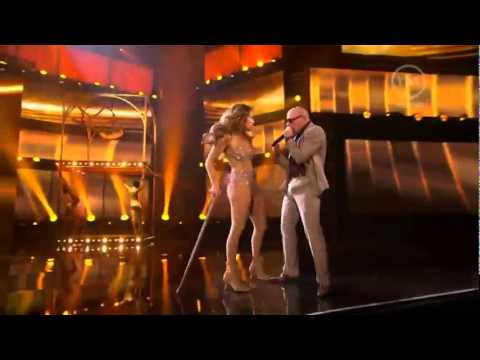 Jennifer Lopez  feat Pitbull  2011 American Music Awards