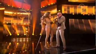 getlinkyoutube.com-Jennifer Lopez  (feat Pitbull)  2011 American Music Awards