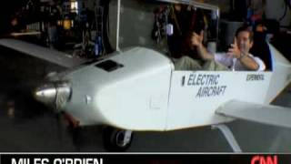 Electric Airplane Electraflyer-C on CNN