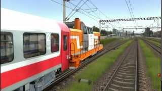 LDH 82 - portocala in trainz simulator 2009