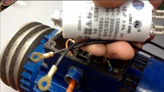 getlinkyoutube.com-طريقة تشغيل محرك ثلاثي الاطوار 380 فولط ب 220 فولط
