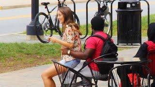 getlinkyoutube.com-Cute Girl Sits on Random Guys | MUST WATCH | ThoseGuys
