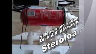 getlinkyoutube.com-[DIY] Membuat Kapal Uap dari Kaleng Bekas
