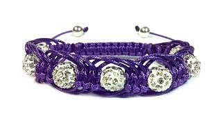 "getlinkyoutube.com-DIY: Shambala macrame bracelet ""Arachne"" / ""Арахна"" макраме браслет шамбала"