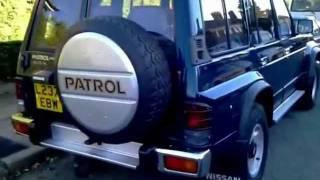 getlinkyoutube.com-1993 Nissan Patrol  Y60 TD42 4.2 diesel, export from UK