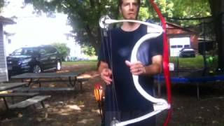 getlinkyoutube.com-Pvc Penobscot Compound bow