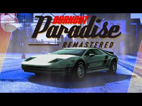Burnout Paradise Remastered - ЛЕТАЮЩЕЕ АВТО ИЗ НАЗАД В БУДУЩЕЕ!