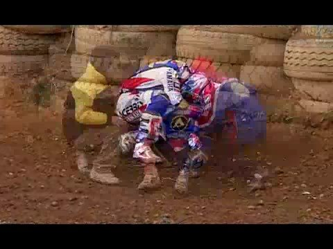 Motocross Crash - Everts