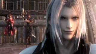 getlinkyoutube.com-Final Fantasy 7 Crisis core: Sephiroth vs Genesis vs Angeal Full Fight HD