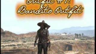 getlinkyoutube.com-All Red Dead Redemption Single Player Outfits