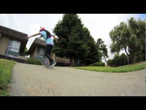 Evelyn Abad- Skater Girl STREET May 2012 HD