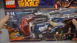 getlinkyoutube.com-LEGO STAR WARS CORUSANT POLICE GUNSHIP 75046 REVIEW 2014