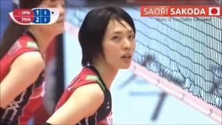 getlinkyoutube.com-Japan - Saori SAKODA - Rio's Road To Rio 2016 - FIVB WOQT [720p]