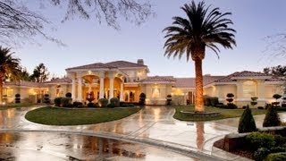 getlinkyoutube.com-7600 Silver Meadow Court, A Mediterranean Luxury Estate in Las Vegas