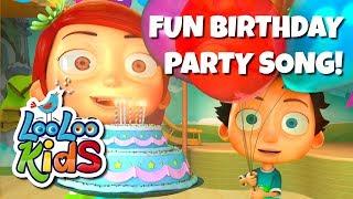 getlinkyoutube.com-Happy Birthday -  Fun Birthday Party Song