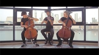 Believer - Imagine Dragons (violin/cello/bass cover) - Simply Three width=