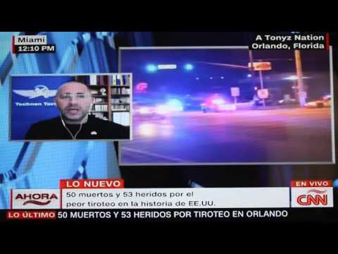 Technon CEO interview with CNN on Orlando terror attack June 2016