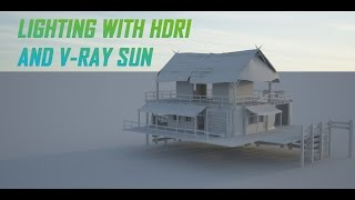 getlinkyoutube.com-Lighting with HDRI and V-Ray Sun