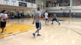 getlinkyoutube.com-Stephen Curry shooting drills/workout w Steve Nash