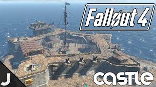 getlinkyoutube.com-Fallout 4 - The Castle - Base Building Tour [Massive Castle Base]