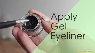 getlinkyoutube.com-How to: Apply Gel Eyeliner   KitesFlyHigh