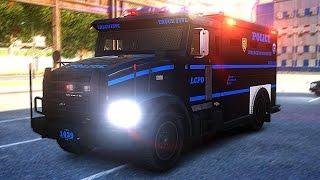 getlinkyoutube.com-GTA 4: LCPDFR 1.1 Swat Multiplayer (Ep. 4) - Mayhem in LC!