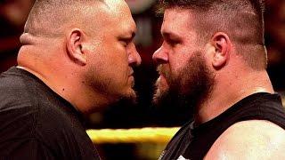 getlinkyoutube.com-Samoa Joe goes one-on-one with Kevin Owens this Wednesday on WWE NXT