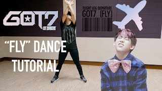 "getlinkyoutube.com-GOT7 (갓세븐) ""Fly"" Dance Tutorial | FULL Mirrored [Charissahoo]"