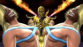 getlinkyoutube.com-Mortal Kombat Komplete Mods : Friendly & Peaceful Fatalities