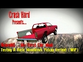 BeamNG - My First Car Mod: Testing A Basic Moonhawk Pickup Veriant WIP