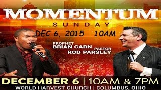Prophet Brian Carn Prophesy Over What Is Left 12-6-15 10 AM WHC
