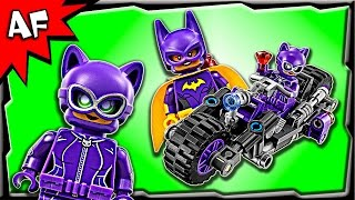 getlinkyoutube.com-Lego Batman Movie CATWOMAN Catcycle Chase 70902 Stop Motion Build Review