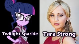 getlinkyoutube.com-Characters and Voice Actors - MLP: Equestria Girls - Friendship Games