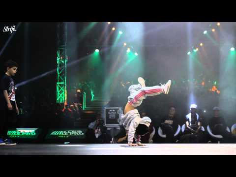 6 yr old bgirl Terra | STRIFE.TV | Chelles Battle Pro Baby 2013 Highlights