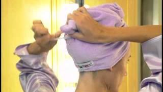 getlinkyoutube.com-Turbie Twist the Super-Absorbent Hair Towel!