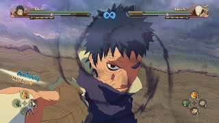 getlinkyoutube.com-NARUTO STORM 4 - Obito | All movesets