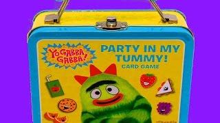 getlinkyoutube.com-Yo Gabba Gabba Party in My Tummy Card Game - itsplaytime612