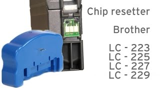 getlinkyoutube.com-Brother LC-223, 225, 227 instruction for chip resetter