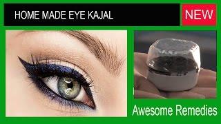 getlinkyoutube.com-Homemade eye kajal -घर पर बनाएं आँखोका काजल by Awesome Remedies