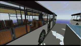 getlinkyoutube.com-Minecraft Bus V2.0 - Project Megabau