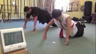 getlinkyoutube.com-Kung Fu Leopard Fist Conditioning