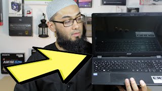 getlinkyoutube.com-Troubleshoot A Laptop No Display Blank Black Screen Not Turning On - Possible Fix